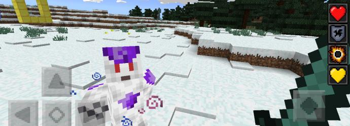Lute contra o Freeza em Minecraft (Foto: Reprodução/MCPE Hub)