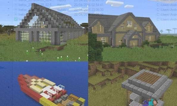 casas com facilidade em Minecraft (Foto ReproduçãoForMinecraft
