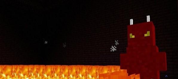 O chefe de fogo é só um dos novos inimigos inclusos no mod de Minecraft (Foto: Reprodução/For-Minecraft)