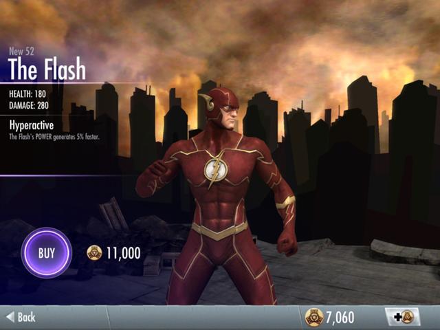 Skins de Injustice: Flash New 52 (Foto: Reprodução/Felipe Vinha)