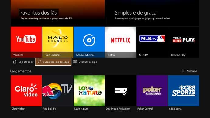 Como acessar o Globosat Play pelo Xbox One e Xbox 360 (Foto: Reprodução/Murilo Molina)