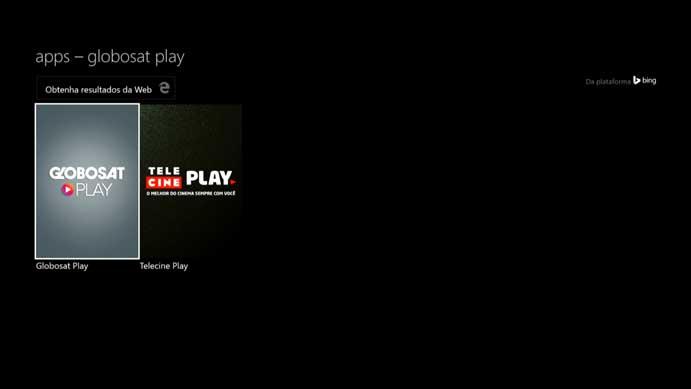 Encontre o Globosat Play na lista (Foto: Reprodução/Murilo Molina)