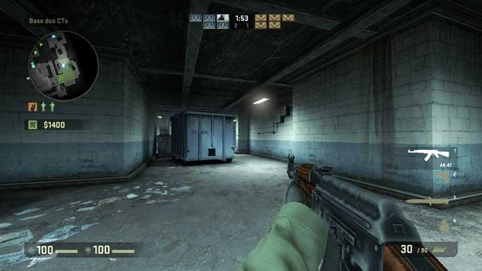 AK 47 é uma das mais populares de CS:GO (Foto: Reprodução/Murilo Molina)