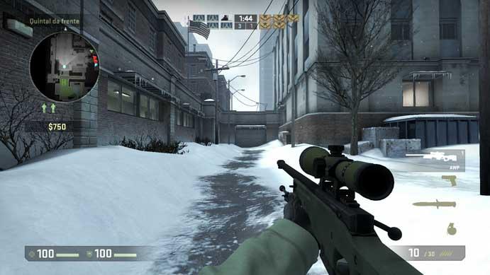 Rifle é potente e preciso em CS:GO (Foto: Reprodução/Murilo Molina)