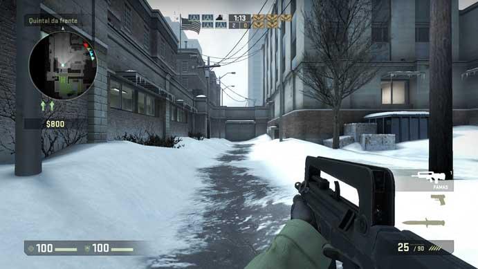 Arma francesa faz sucesso em CS:GO (Foto: Reprodução/Murilo Molina)