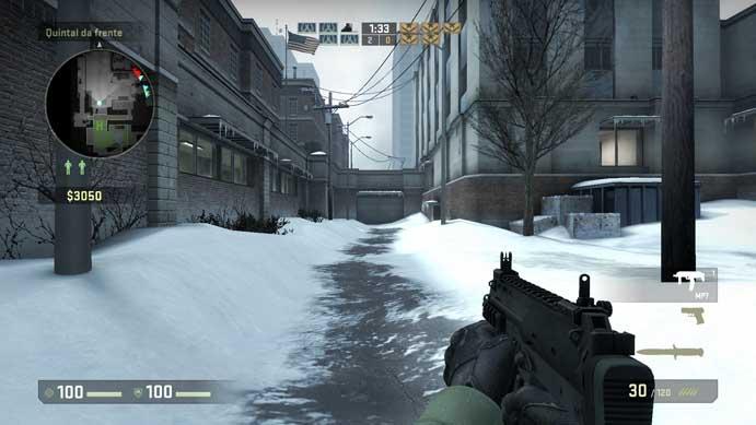 MP7 é barata e eficiente em CS:GO (Foto: Reprodução/Murilo Molina)