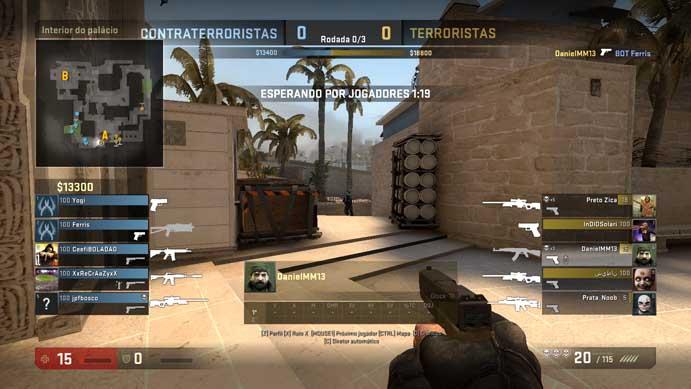 Assista sua partidas de Counter-Strike: Global Offensive (Foto: Reprodução/Murilo Molina)