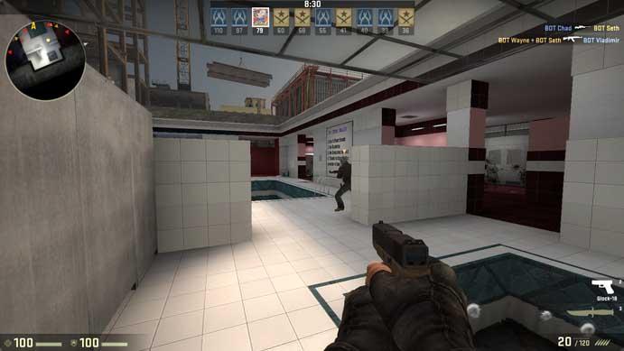 Jogue sua partida de Counter-Strike: Global Offensive (Foto: Reprodução/Murilo Molina)