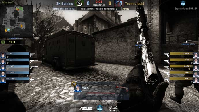 Acompanhe a transmissão do Counter-Strike: Global Offensive (Foto: Reprodução/Murilo Molina)