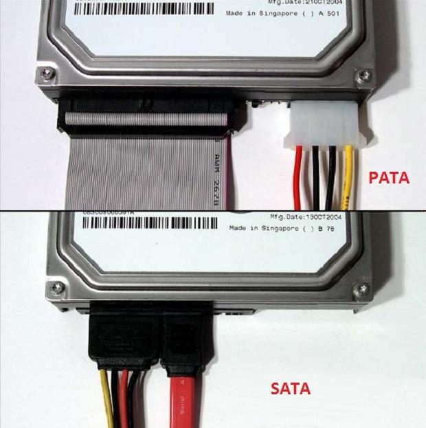 Disco rígido PATA (IDE) e SATA (Foto: Divulgação)