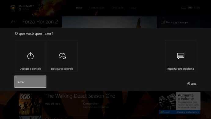 Habilite o zoom do Xbox One (Foto: Reprodução/Murilo Molina)