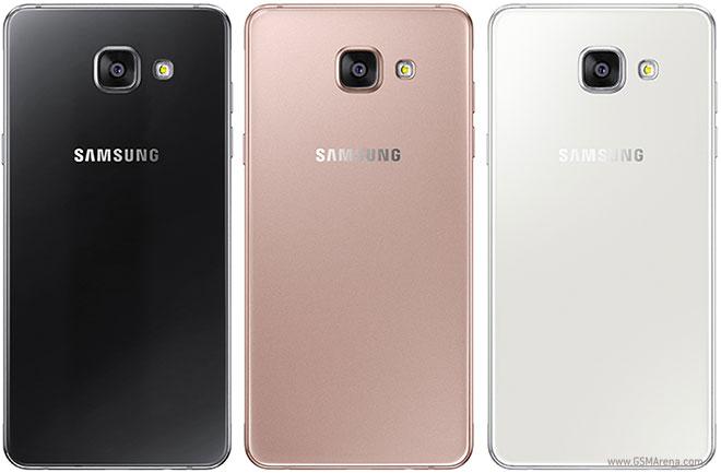Opções de cores do Galaxy A5 2016 (Foto: Divulgação/Samsung)