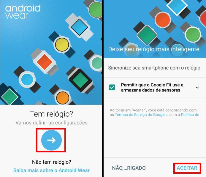 Iniciando a configura e ativando o Google Fit (Foto: Reprodução/Edivaldo Brito)