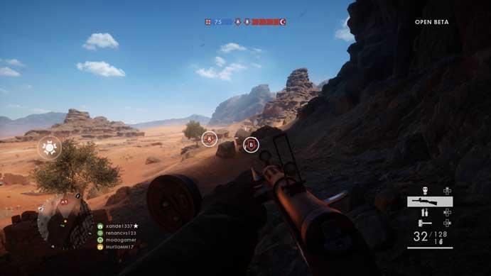 Ataque os pontos no Battlefield 1 (Foto: Reprodução/Murilo Molina)