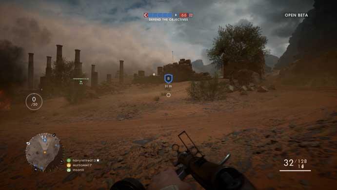 Corra para proteger os objetivos em Battlefield 1 (Foto: Reprodução/Murilo Molina)