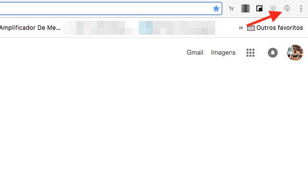 Opção para abrir o Google Hangouts no Google Chrome (Foto: Reprodução/Marvin Costa)