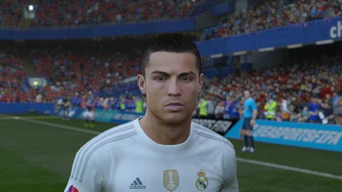 Fifa 16: rostos são praticamente os mesmos do novo game (Foto: Reprodução/Murilo Molina)