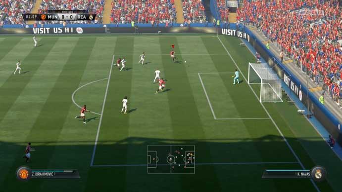 Fifa 17: partidas estão mais reais do que nunca (Foto: Reprodução/Murilo Molina)