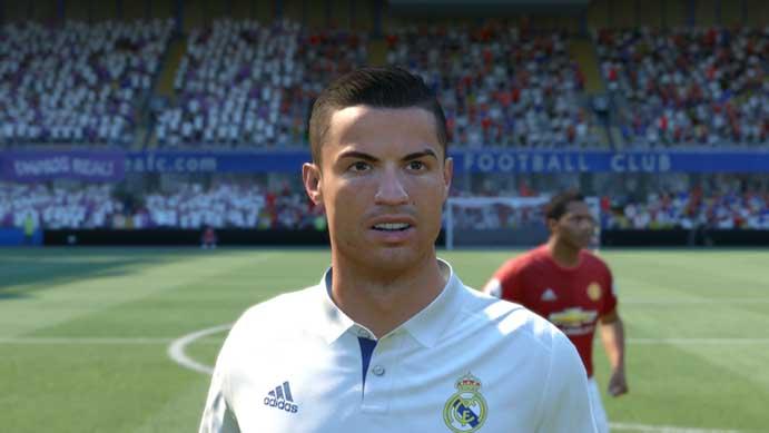 Fifa 17: game tem expressões mais realistas (Foto: Reprodução/Murilo Molina)