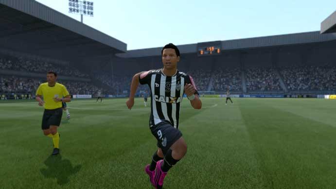 Fred (Eustáquio) é um dos piores jogadores do Galo em Fifa 17 (Foto: Reprodução/Murilo Molina)