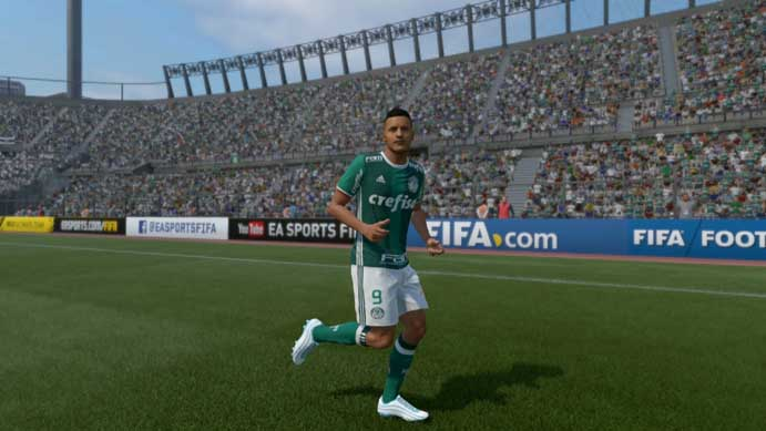 Versão genérica de Gabriel Jesus não impressiona em Fifa 17 (Foto: Reprodução/Murilo Molina)