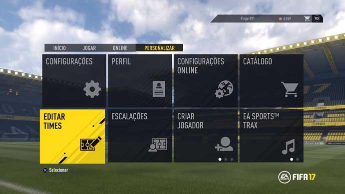 Fifa 17: como transferir jogadores e atualizar os elencos manualmente (Foto: Reprodução/Murilo Molina)