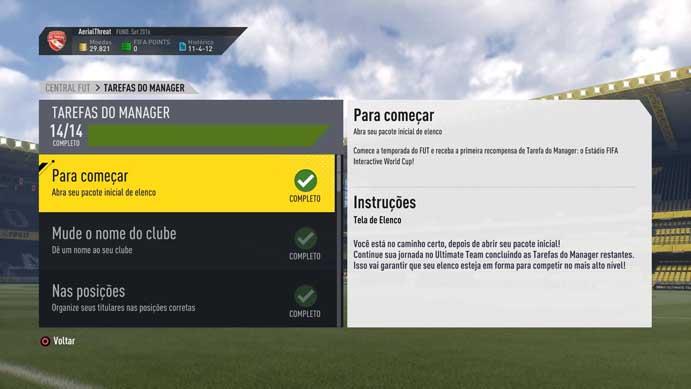 Fifa 17: confira dicas para mandar bem no novo modo Ultimate Team (Foto: Reprodução/Murilo Molina)