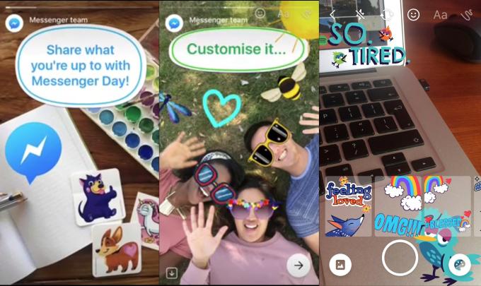 Messenger Day é o novo possível clone do Snapchat (Foto: Reprodução/TechCrunch)