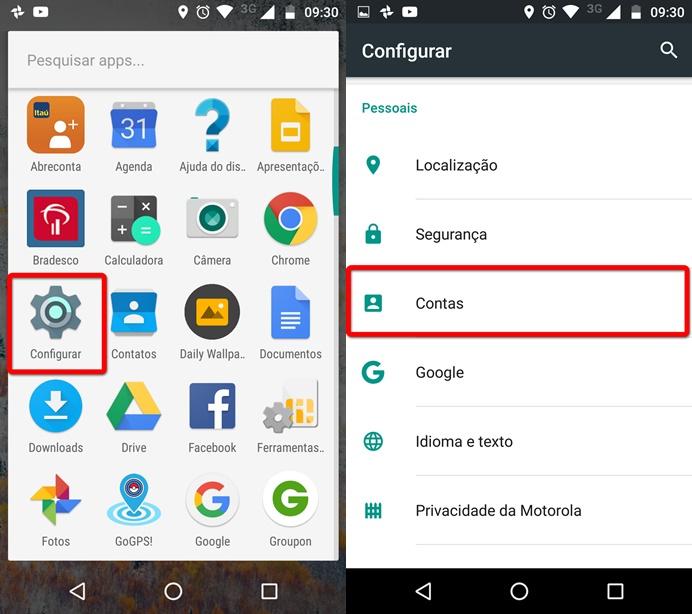 Como Sair Da Conta Da Google Play Store Pelo Celular Com Android