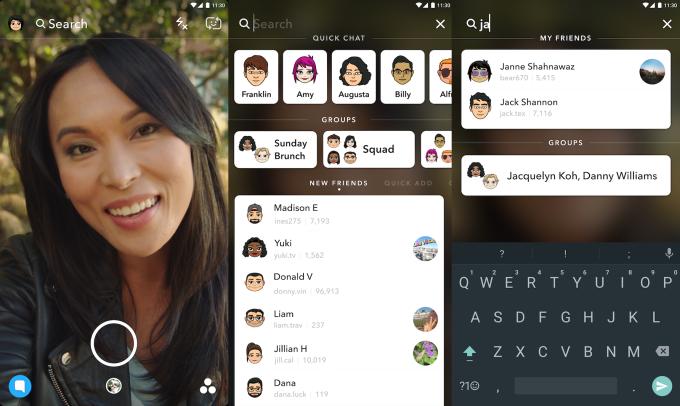 Snapchat ganha busca por snaps no iOS e no Android (Foto: Divulgação/Snapchat)