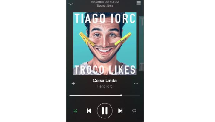 Instagram Stories: dê play na música (Reprodução/Luana Marfim)