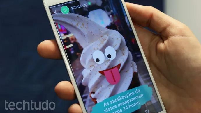 Veja como postar fotos do Instagram e Facebook no WhatsApp Status (Foto: João Gabriel Balbi/TechTudo)