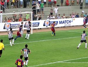jogo entre Atlético-MG e Barcelona pelo Future Champions