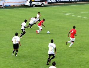 partida entre Corinthians e PSG no Future Champions