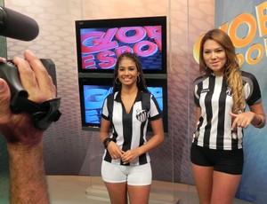 Musas Do Ceará Fazem Ensaio No Estúdio Do Globo Esporte Ce