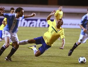 danilo  brasil x argentina (Foto: EFE)