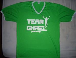 Camisa do oficial de Chael Sonnen (Foto: Arquivo Pessoal)
