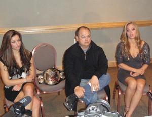 UFC Scott Coker Rhonda Rousey Miesha Tate (Foto: Marcelo Russio / Globoesporte.com)