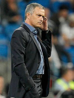 2921b4769f José Mourinho na partida do Real Madrid contra o Getafe (Foto  Getty Images)