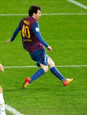 messi barcelona gol santos (Foto: Agência Reuters)