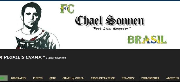 Logo do blog dos fãs clubes de Sonnen (Foto: Reprodução)