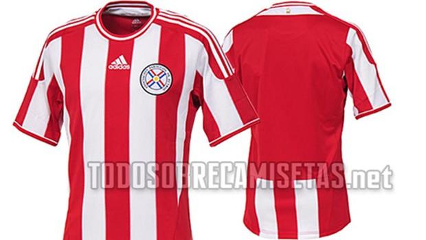 1aa8514eac862 Seleção paraguaia renovará uniforme para a disputa da Copa ...