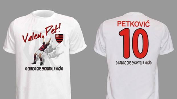 Flamengo lança camisa e bandeira oficiais para despedida de Petkovic ... 9c2723894fb39