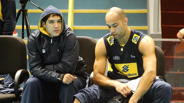148cd32e847c4 vôlei wallace brasil treino (Foto  Helena Rebello   Globoesporte.com)