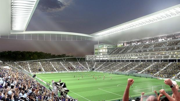 Que O Eterno Atenda Todos Os Seus Desejos Então Está: Maquete Estádio Corinthians (Foto: Divulgação