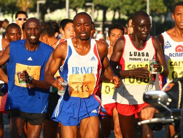 Patrick Ngoie (113) foi o vencedor da Maratona do Rio (Foto: Luiz Pires / Divulgação)