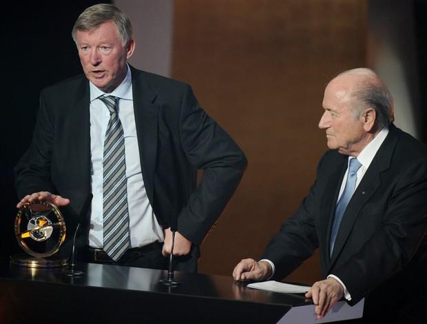 ferguson prêmio bola de ouro fifa (Foto: AFP)