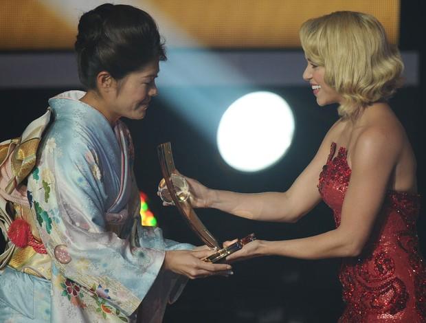 Homare Sawa shakira bola de ouro fifa prêmio (Foto: AFP)