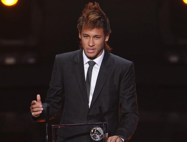 neymar bola de ouro fifa prêmio (Foto: AFP)