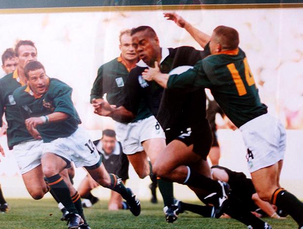 quadro rugby vitótia 1995  ellis park